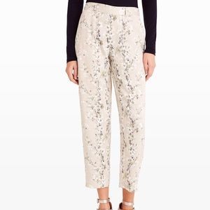 NWT Club Monaco floral silky ceren pants trousers